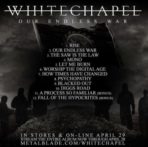 (Image from Whitechapel's Facebook)