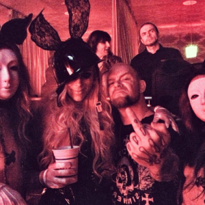 Maria Brink and Ivan Moody at the Golden Gods in 2013 (Image from Maria Brink's Instagram)
