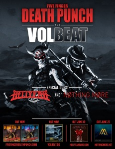 New Dates For Five Finger Death Punch Volbeat Tour Metal