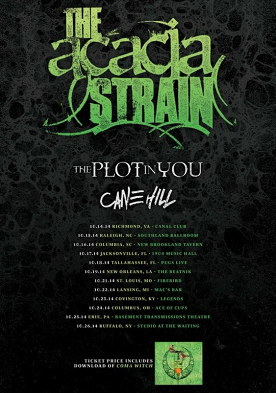 The Acacia Strain Announce Fall Headlining Dates | Metal Anarchy