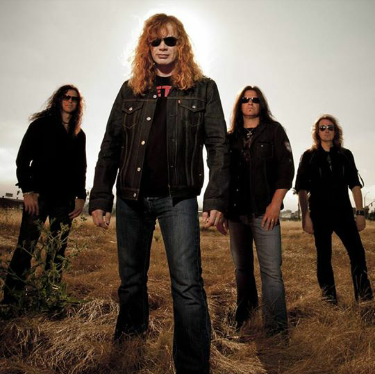 (Image from Megadeth's Facebook)