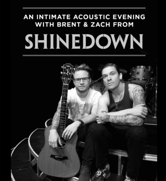 Brent Smith Zach Myers Acoustic Tour