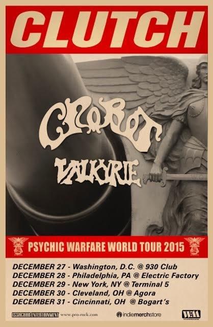 Clutch tour dates