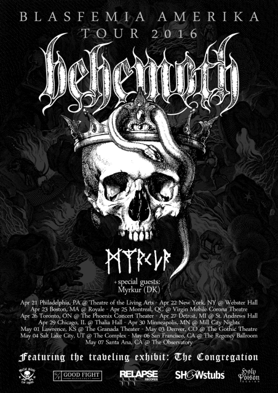 behemothtour