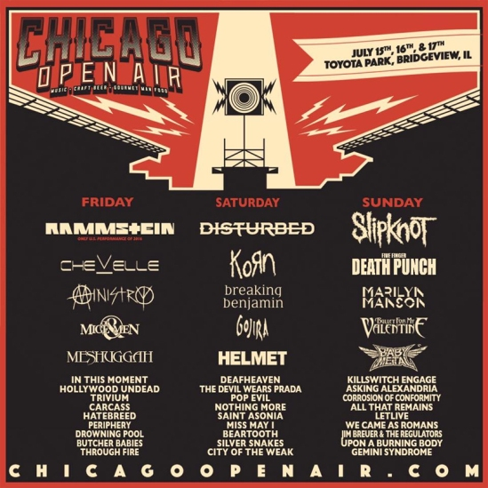 chicagoopenairlineup
