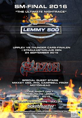 Motörhead Members to Join Saxon For Special Lemmy Tribute At