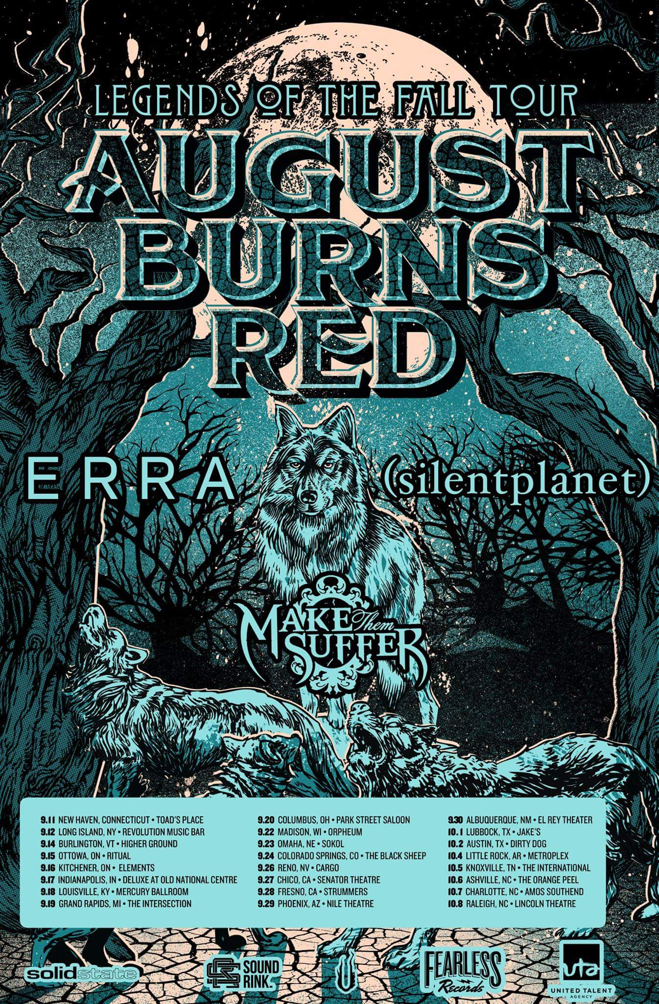 August Burns Red Announce 2016 Tour With ERRA, Silent Planet, & Make ...