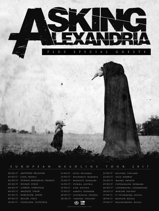 asking alexandria announce 2017 european uk tour metal anarchy