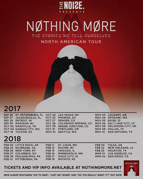 Nothing more tour dates in Sydney