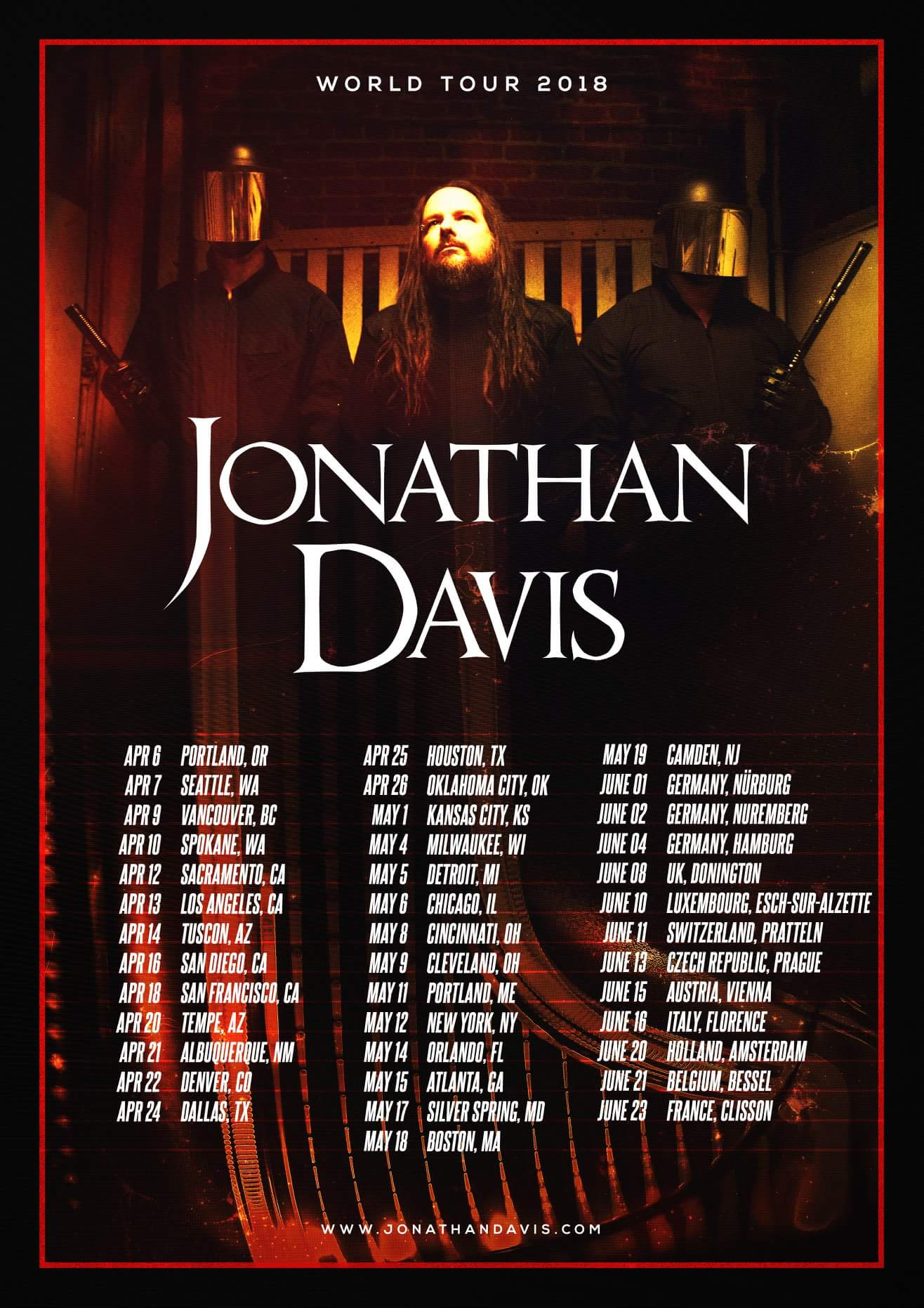 Korn 22 Heavy Metal Music Legend Star California Band Poster Jonathan Davis