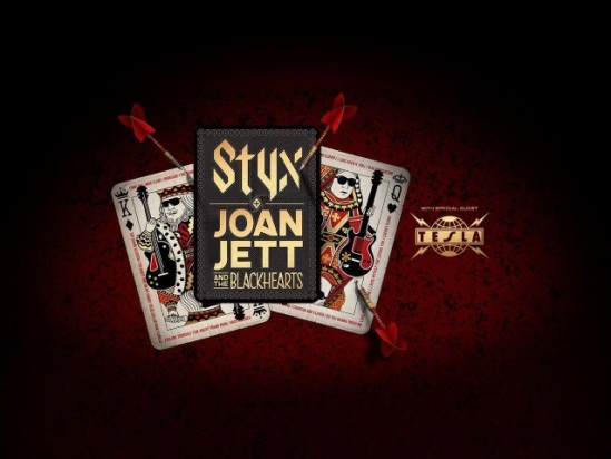 Styx Joan Jett Amp The Blackhearts And Tesla Announce 2018