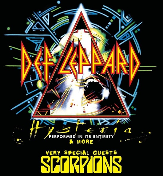 """73c85563f21 Def Leppard To Perform """"Hysteria"""" In Full On Australian New Zealand Tour  With Scorpions"""