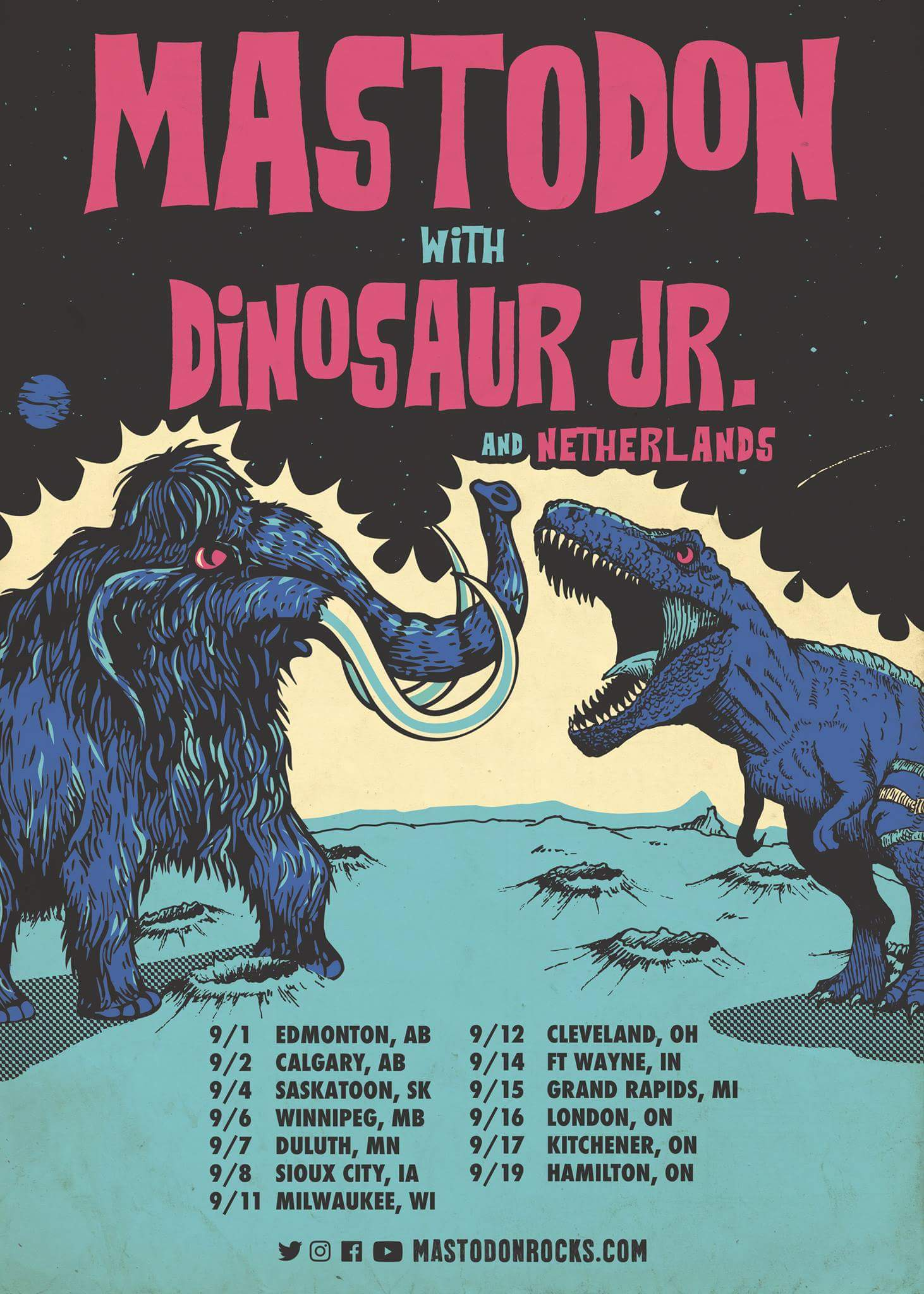 Mastodon Cancel Tour With Dinosaur Jr. & Netherlands | Metal Anarchy