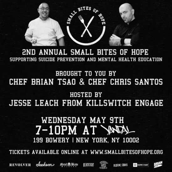 """Killswitch Engage's Jesse Leach To Host Second """"Small Bites"""