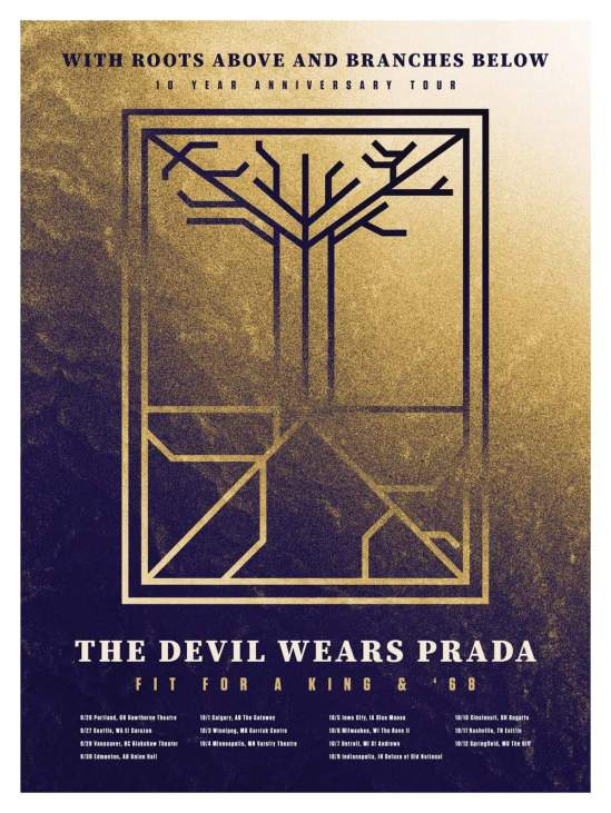The Devil Wears Prada Announce With Roots Above And Branches Below