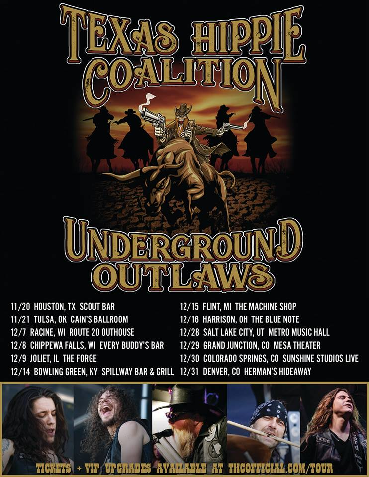 Texas Hippie Coalition Announce Late 2018 Tour Metal Anarchy