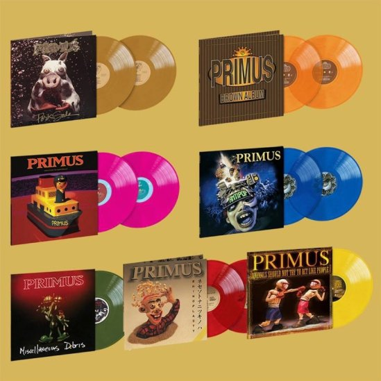 Primus Announce Limited Edition Vinyl Reissues   Metal Anarchy