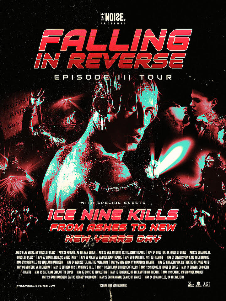 Falling In Reverse Announce U.S. Tour With Ice Nine Kills ...