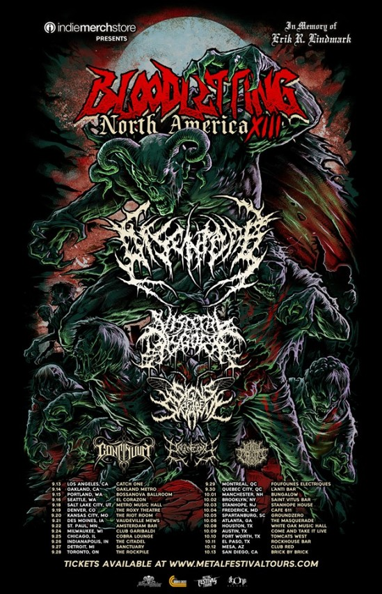 Disentomb, Visceral Disgorge, Signs Of The Swarm, Etc  Set