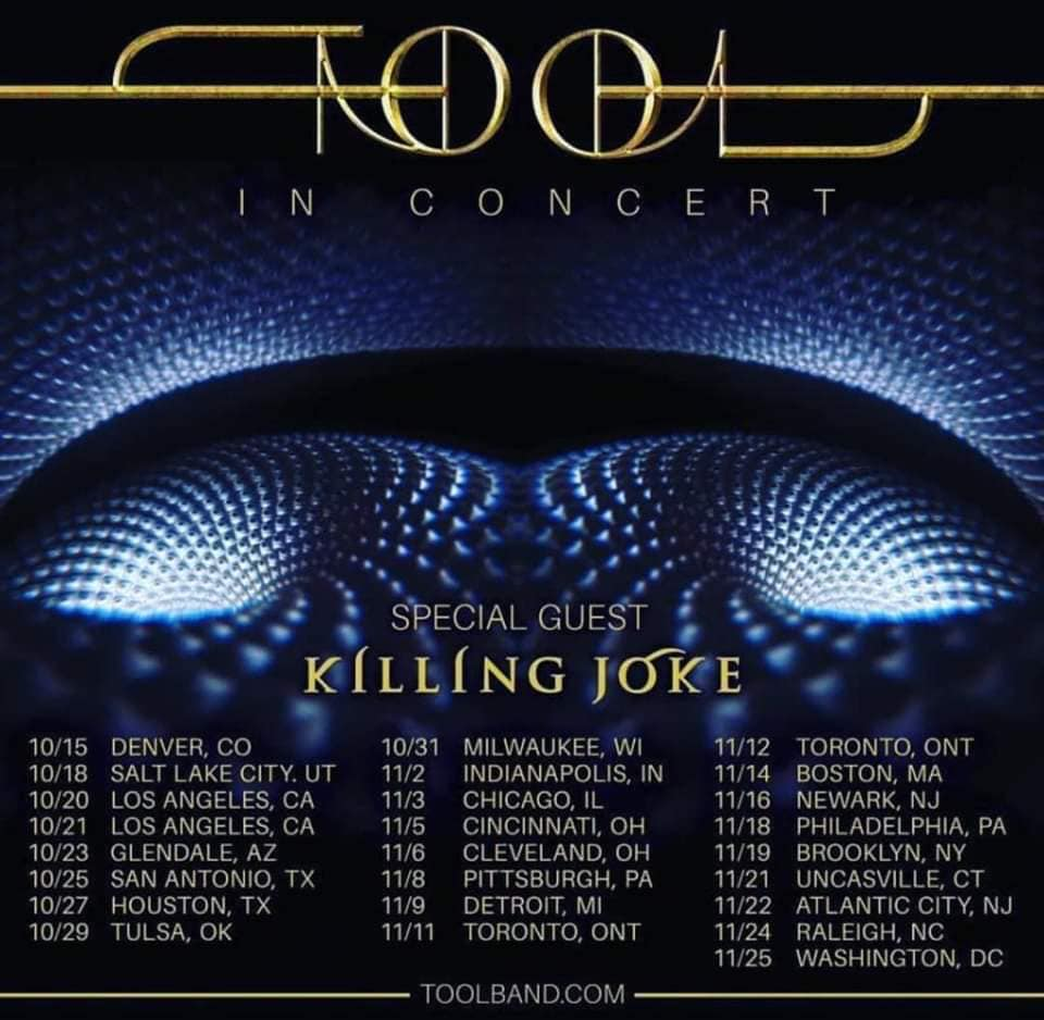 Toyota Little Rock >> Tool Announce North American Tour With Killing Joke ...