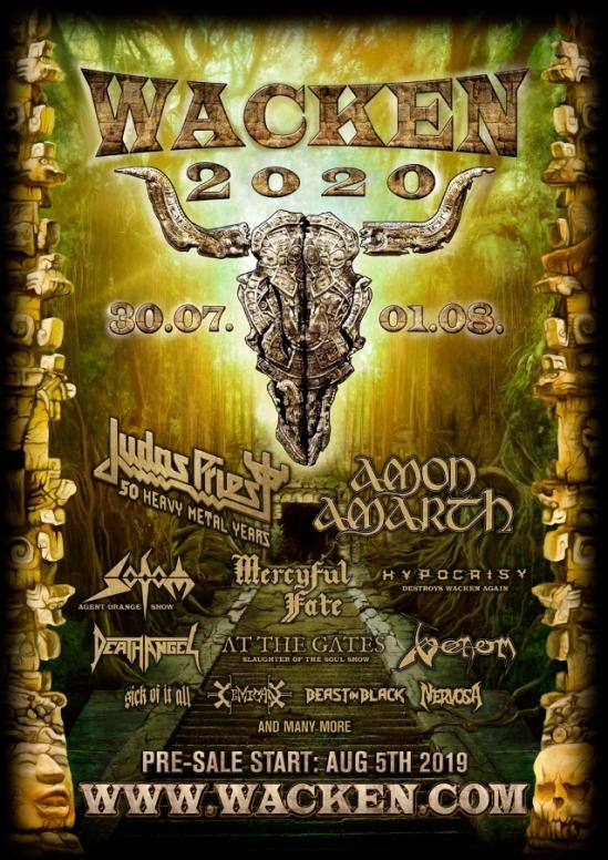Moonstock Festival 2020 Judas Priest, Amon Amarth, Mercyful Fate, Etc. Set For 2020 Wacken