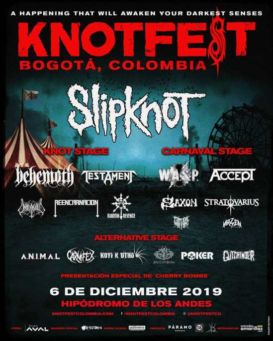 Knotfest Colombia | Metal Anarchy