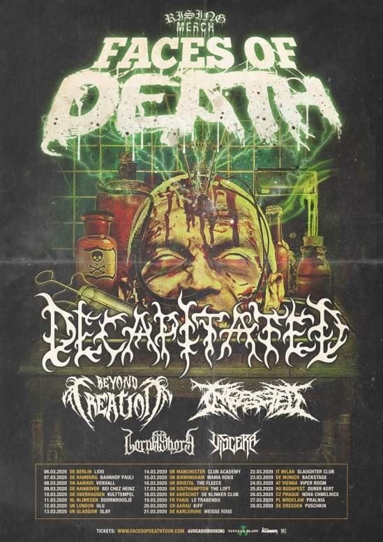 Summer Slaughter 2020.Decapitated Beyond Creation Ingested Lorna Shore
