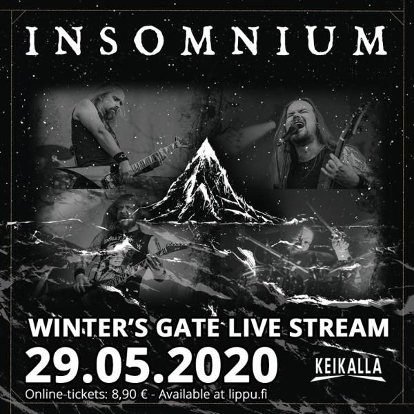 Insomnium To Perform Winter S Gate In Full During Livestream