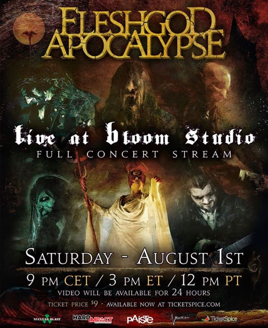 Fleshgod Apocalypse Announce Livestream Concert Metal Anarchy